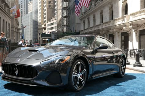 Mc Upholstery 2018 Maserati Granturismo Debuts With Subtly Refreshed