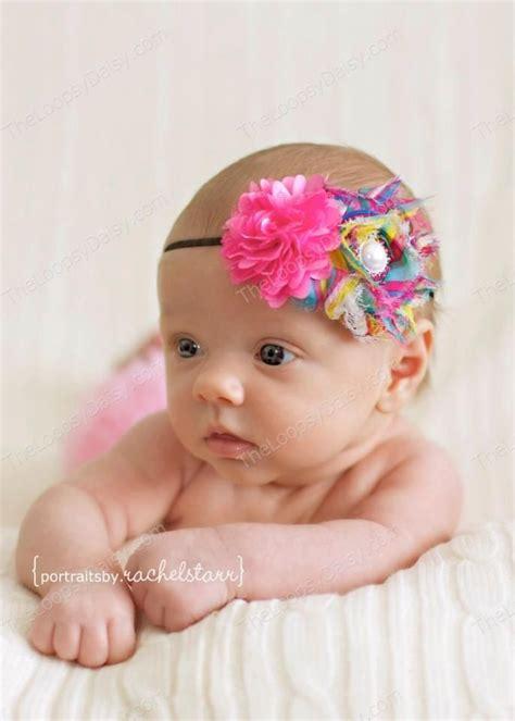baby headband baby bows headband infant headband elastic he
