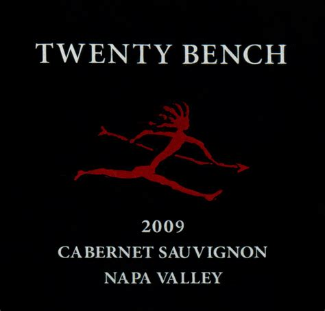 twenty bench cabernet 2009 twenty bench cabernet sauvignon wine library