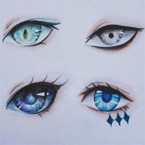 Cool Anime Eye Drawings 25 Best Ideas About Anime On