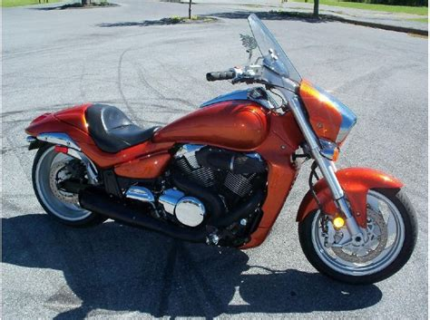 2006 Suzuki M109r Orange Suzuki Boulevard For Sale Find Or Sell
