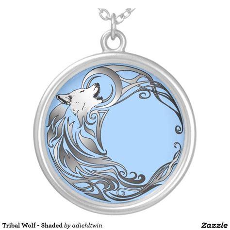 tattoo tribal redondo collar plateado lobo tribal sombreado lobo tribal