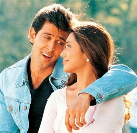 hrithik roshan movie song hrithik roshan and rani mukherjee in movie mujse dosti