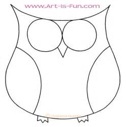 Owl Outlines Drawings by How To Draw An Owl Learn To Draw A Colorful Owl In This Easy Step By Step Drawing Lesson