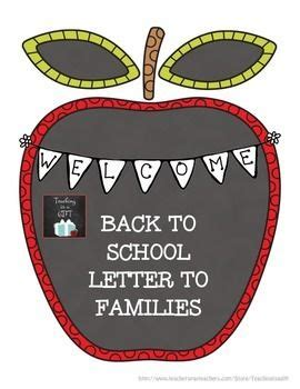 Introduction Letter Welcome Students Back To School the 25 best welcome back letter ideas on