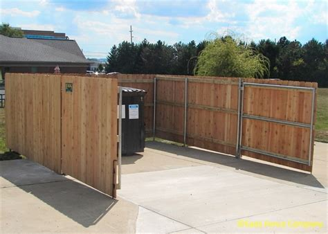 dumpster enclosure eads fence co your super fence store dumpster enclosures