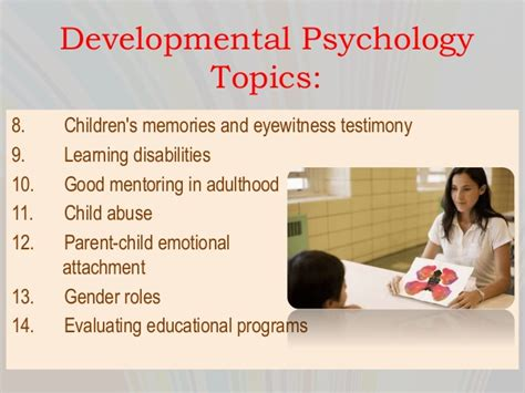 Thesis Statement For Developmental Psychology by Developmental Psychology Essay Topics Writefiction581