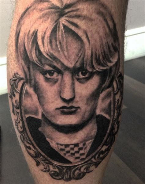 Tattoo Gallery On Hindley | serial killer tattoos of myra hindley and night stalker