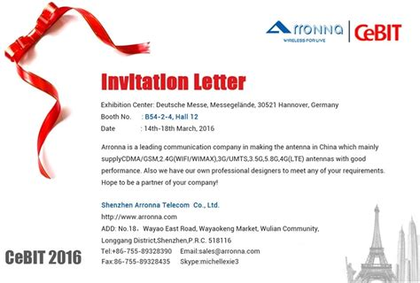 exhibition invitation card template invitation letter exhibition booth letters free sle