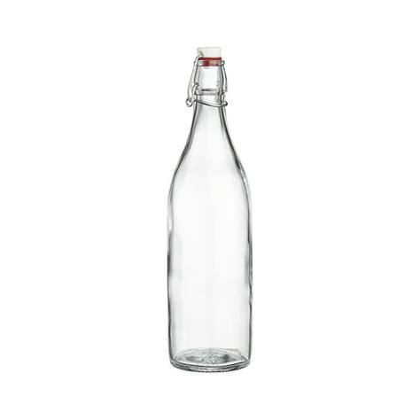 Teh Gelas Botol airtight glass bottle crate and barrel