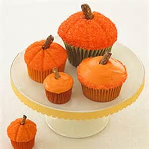 pumpkin cupcakes recipes halloween desserts