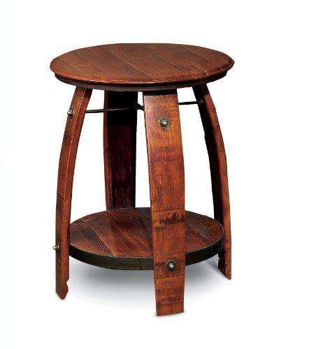 Barrel End Table by Wine Barrel End Table Infobarrel