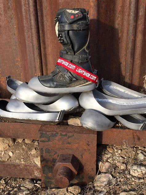 flat track steel shoe a proper steel shoe is the racer s edge