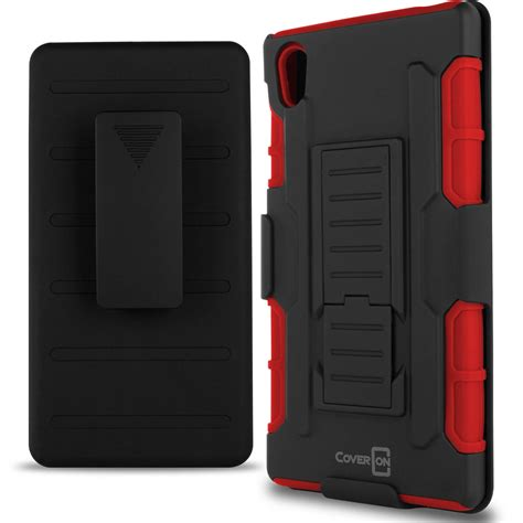 Rugged Armor Sony Xperia Z5 Z5 Plus Premium Dual Casing Cover Hp 1 coveron for sony xperia z5 rugged belt clip holster