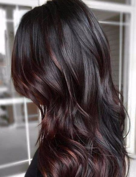 chocolate plum hair color dark plum brown hair brown hairs