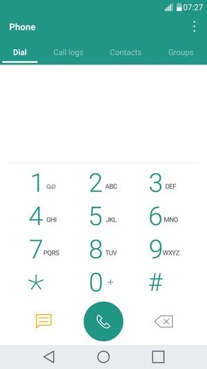 access voicemail lg  android  device guides