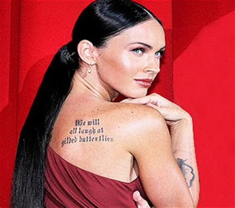 megan fox tattoo megan fox designs design
