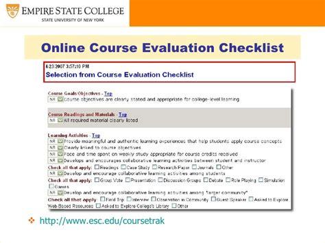 Instructional Design Criteria Checklist | curriculum and instructional design for online and