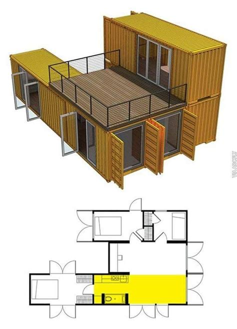 design your own container home build your own container house contenedor pinterest