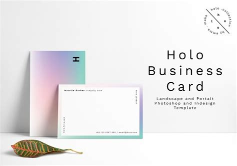 Holographic Cards Templates Free by 20 Clean And Minimal Business Cards That Stand Out