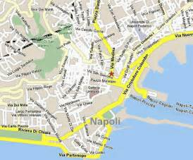Napoli Italy Map by Naples Map