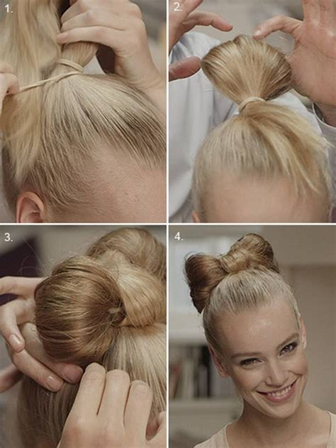 hairstyles buns step by step 20 amazing step by step bun hairstyles