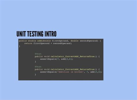 android unit testing android tdd