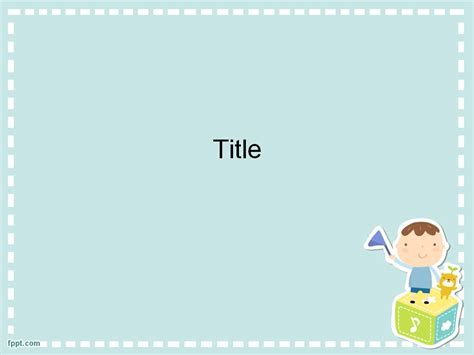 cute powerpoint template 1 แจก powerpoint template 4732