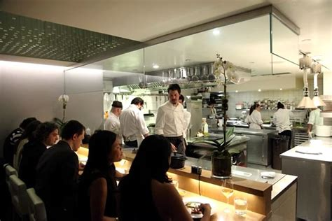 open kitchen restaurant design open kitchen interior design of aldea restaurant new york