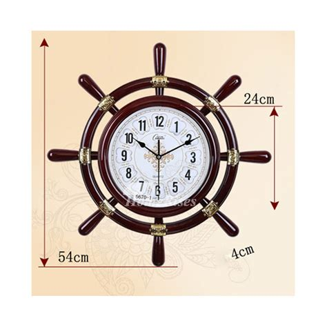 room clocks nautical wall clock silent 20 inch pvc living room for sale hanging