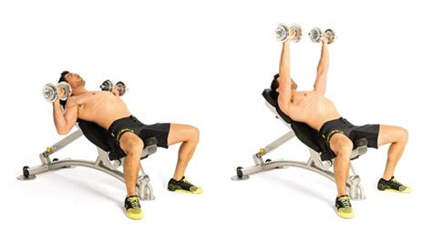 dumbbell chest exercises without bench incline dumbbell press without bench 28 images incline