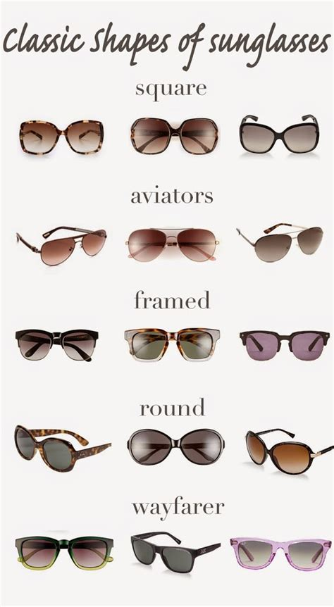 Whats Your Favorite Sunglass Shape by Classic Shapes Of Sunglasses Fashionedible
