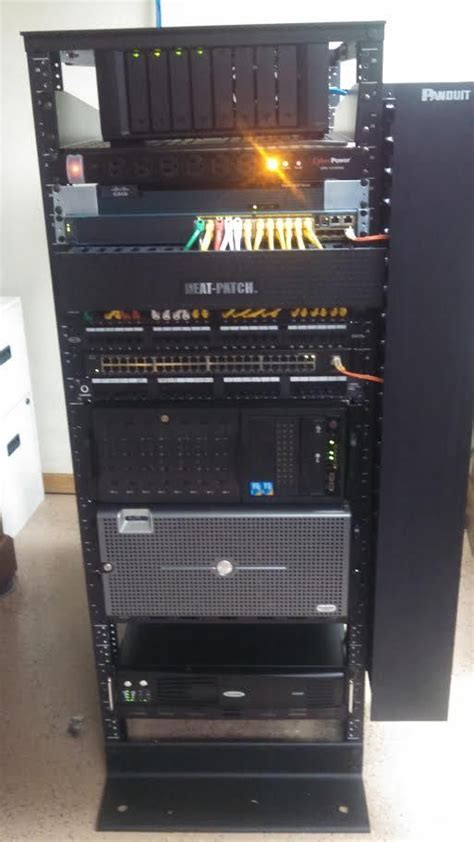 crazy installation   home network system great cabling