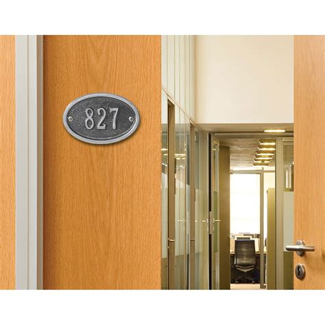 Oval Ultra by Whitehall Products Oval Ultra Address Plaque