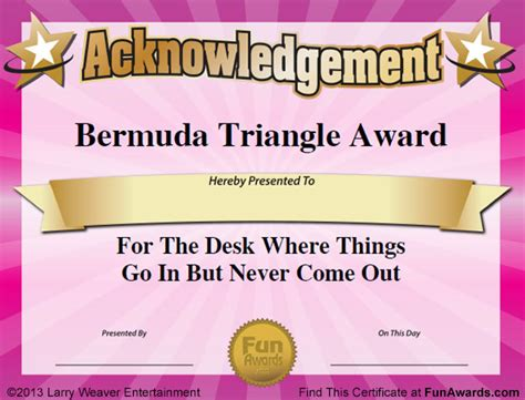 templates for office awards awards certificate template cake ideas and designs