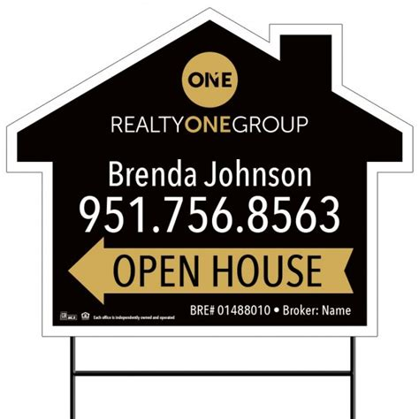 where to buy open house signs 18x24 open house 11 open house realty one group by company