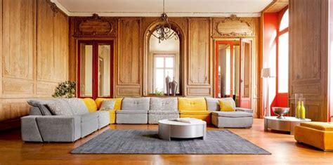 Meuble Salle De Bain A L Ancienne #8: Boiserie-murale-ancienne-renovation-maison-deco-salon-meuble-contemporain.jpg