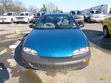 teal blue car 1995 teal blue metallic chevrolet cavalier sedan 60804774