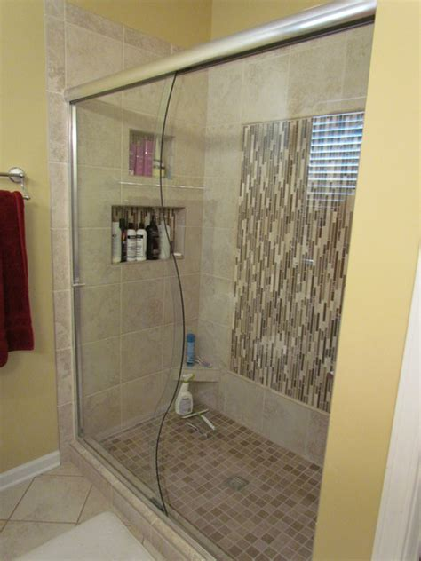 bathroom tile ideas lowes henke shower contemporary bathroom by