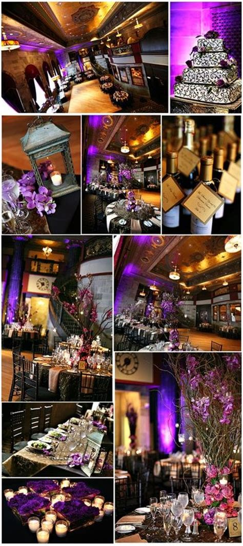 16 best images about purple white and black wedding on