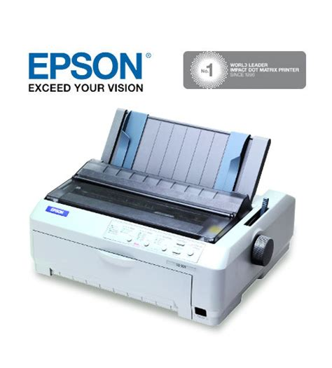 Printer Epson Dot Matrix A3 epson lq 2190 24 pin usb parallel dot matrix printer a3