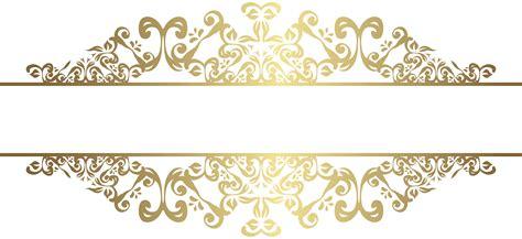 gold decorative elements vector gold decorative element png clip art gallery