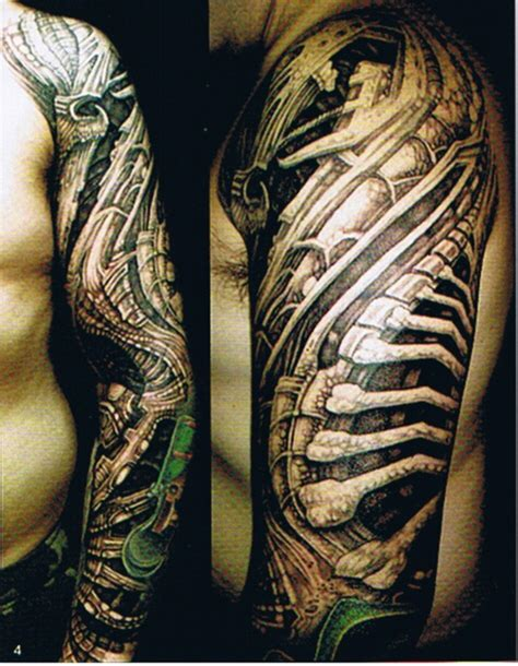mechanical arm tattoo designs mechanical sleeve designs for