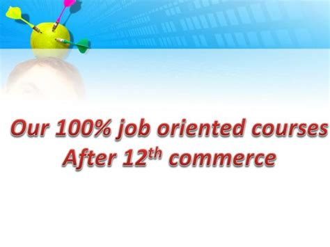 Direct Mba After 12th by Ppt What To Do After 12th Commerce Powerpoint