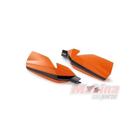 Ktm Handguards 7700207900004 Ktm Handguards Orange