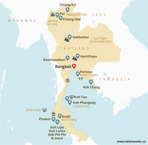 thailand guide top places  travel  update