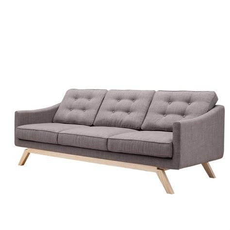 gray linen couch barsona linen sofa gray modern in designs