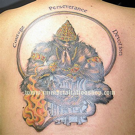 hanuman tattoo hanuman tattoos lord hanuman designs pictures