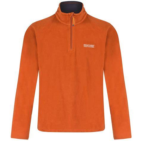 Blazer Parka Blazer Bahan Fleece regatta thompson mens half zip fleece top jacket pullover rma021 ebay