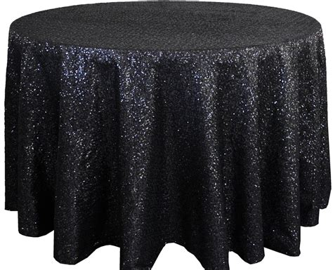 black linen tablecloth black sequin table cover linens 108 quot